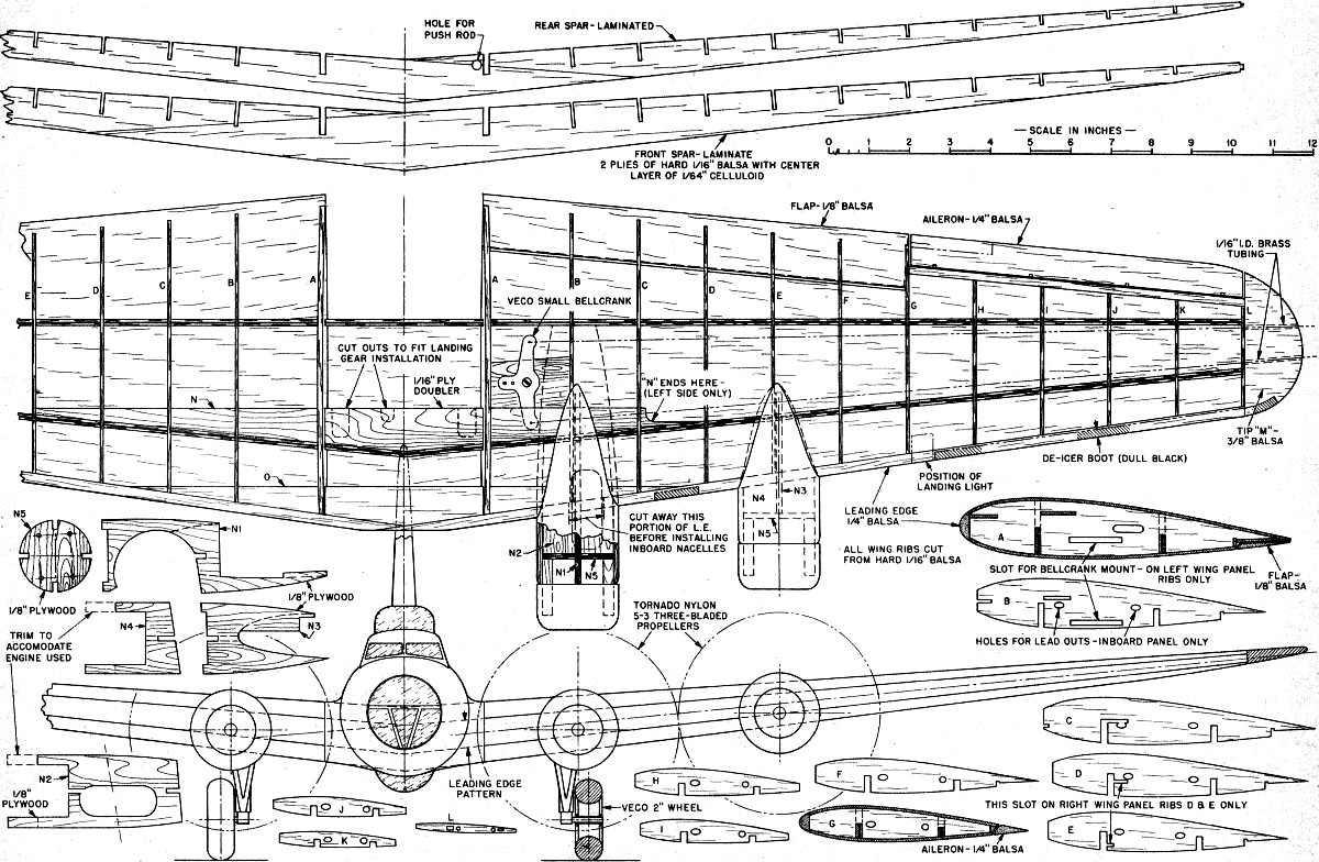 Retracting Gear B 17g Control Liner Article Amp Plans July