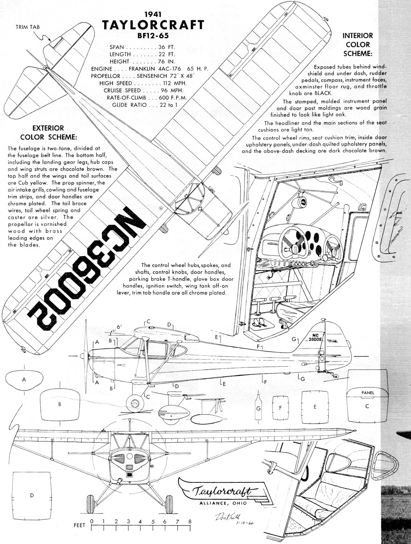 The Taylorcraft February American Aircraft Modeler