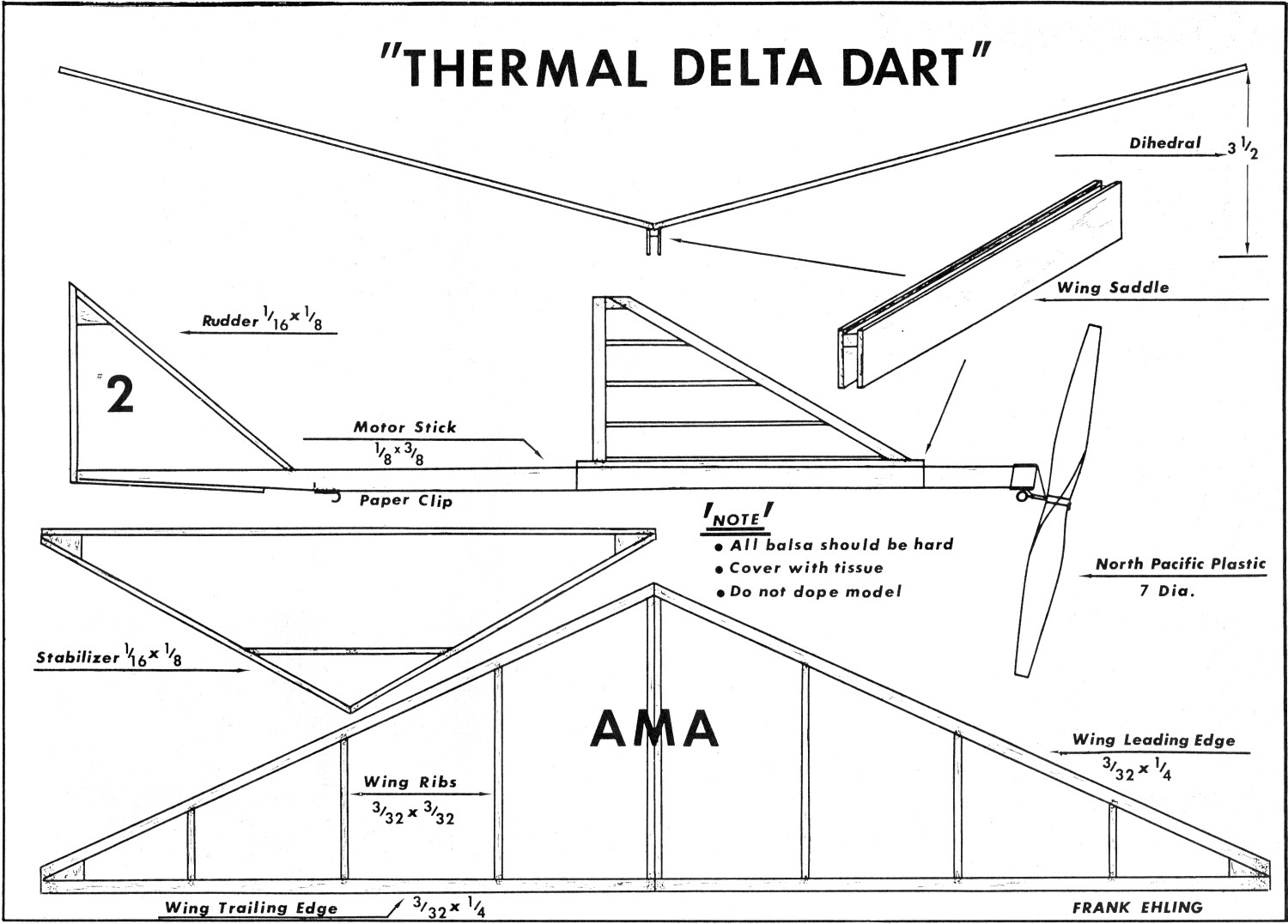 Thermal Dart Article Amp Plans August American