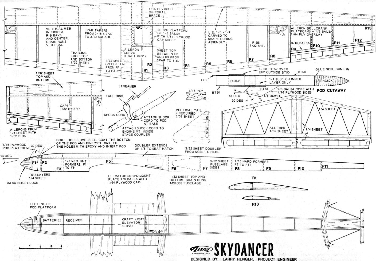 Glider Sailplane Plans   Wiring Diagram Database