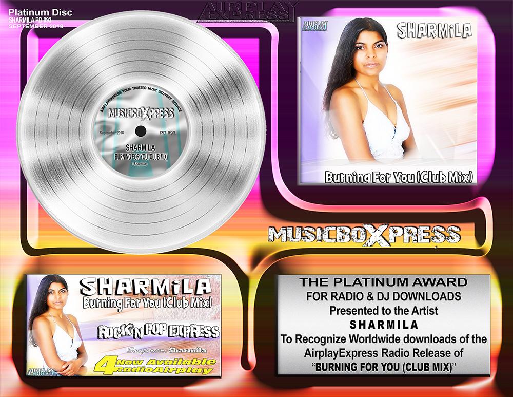 Artist Awards Sharmila | Airplay Express
