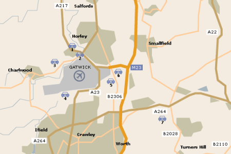 map gatwick » Free Wallpaper for MAPS   Full Maps