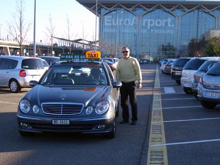 EuroAirport Flughafen Taxi Service Basel.