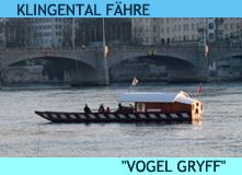 Klingental Fähre Vogel-Gryff in Basel