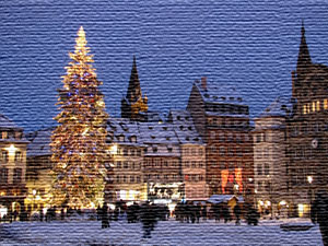Strasbourg christmas market with Airport-Taxiservice Basel