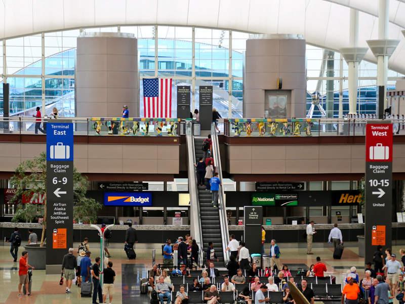 Denver Airport Jeppesen Terminal Modernisation