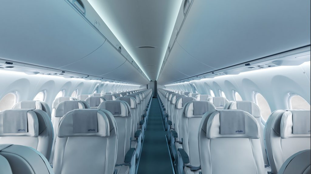 Plan Seating 744 Delta Boeing