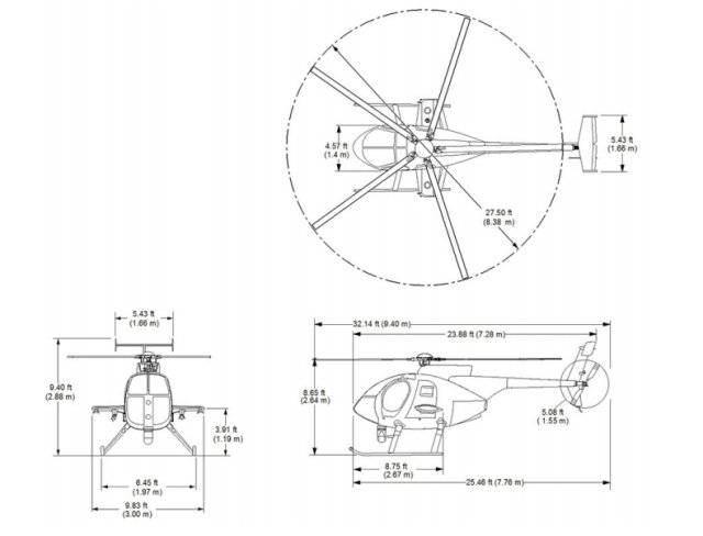 MD 530G MD530G scout attack helicopter technical data sheet specifications intelligence description information identification pictures photos images video MD Scout attack helicopters MD Scout attack helicopters Aircraft United States American US USN USMC US Air Force US Navy aviation aerospace defence industry military technology