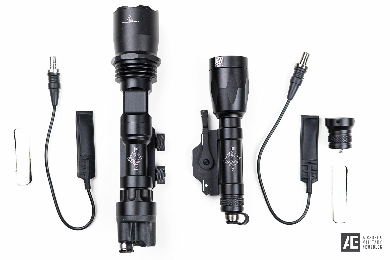 Review Night Evolution M961 Amp M620p Weapon Lights
