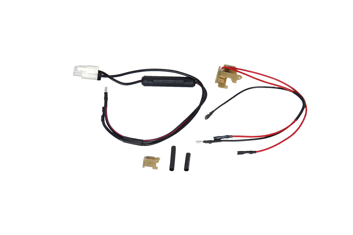 Jg Standard Tamiya Battery Wiring Kit For M16 Rear Wired