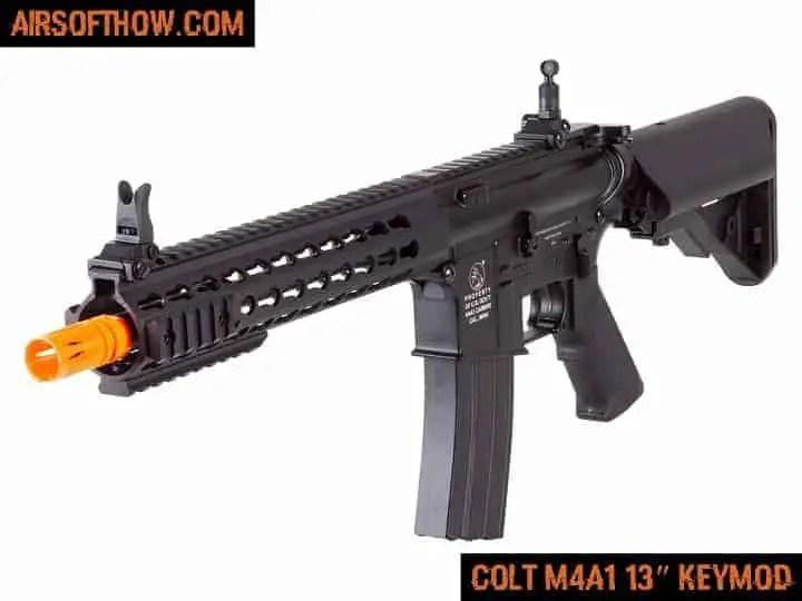 Colt M4A1 13″ KEYMOD- Airsoft gun