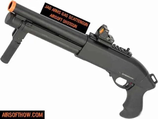 JAG Arms Gas Scattergun Airsoft Shotgun