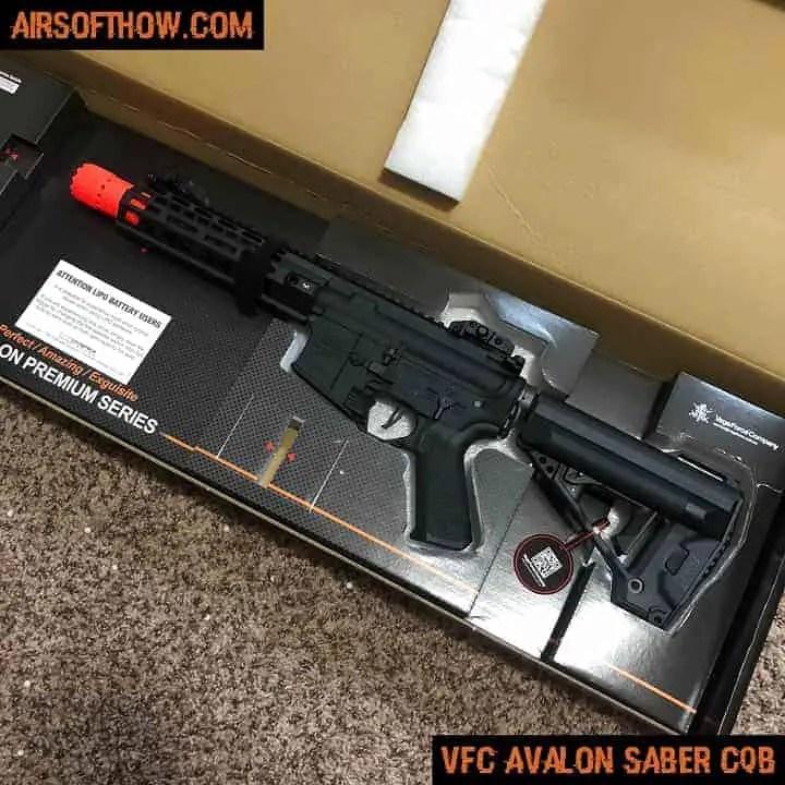 VFC Avalon Saber CQB- Airsoft gun