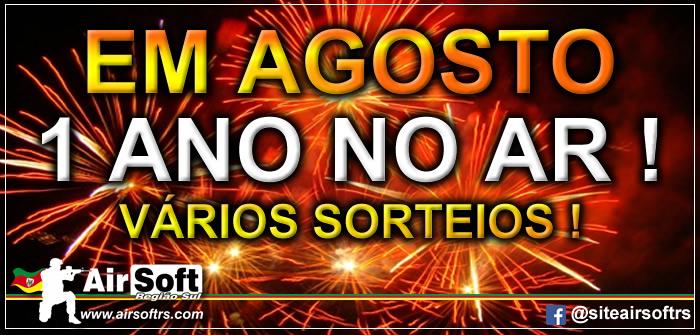 1 ANO DO SITE NO AR !!! SORTEIOS PARA A GALERA !!!