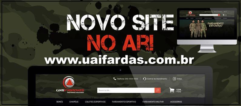 Uai Fardas com site novo ! www.uaifardas.com.br  9c7bcc7492e
