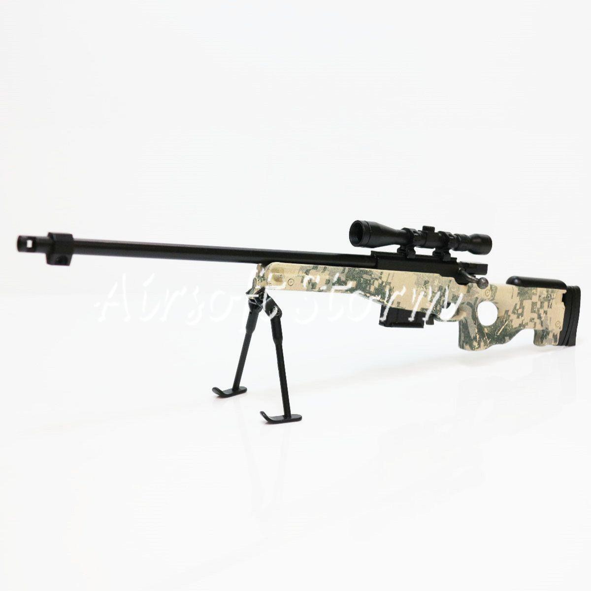 Army Force Af Mc Toy Dummy Model Kit 1 6 L96 Metal Gun