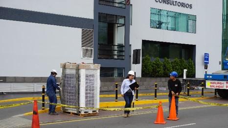 instalacion sistema de aire acondicionado clinica good hope en lima peru airson ingenieros 2