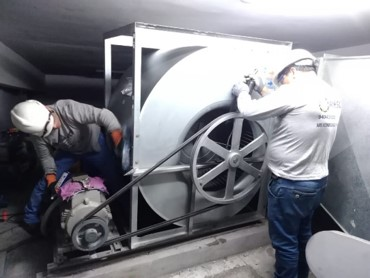 mantenimiento sistema de aire acondicionado adex en lima peru airson ingenieros 3