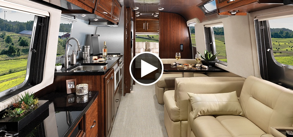 The New 33 Foot Classic Travel Trailer Airstream