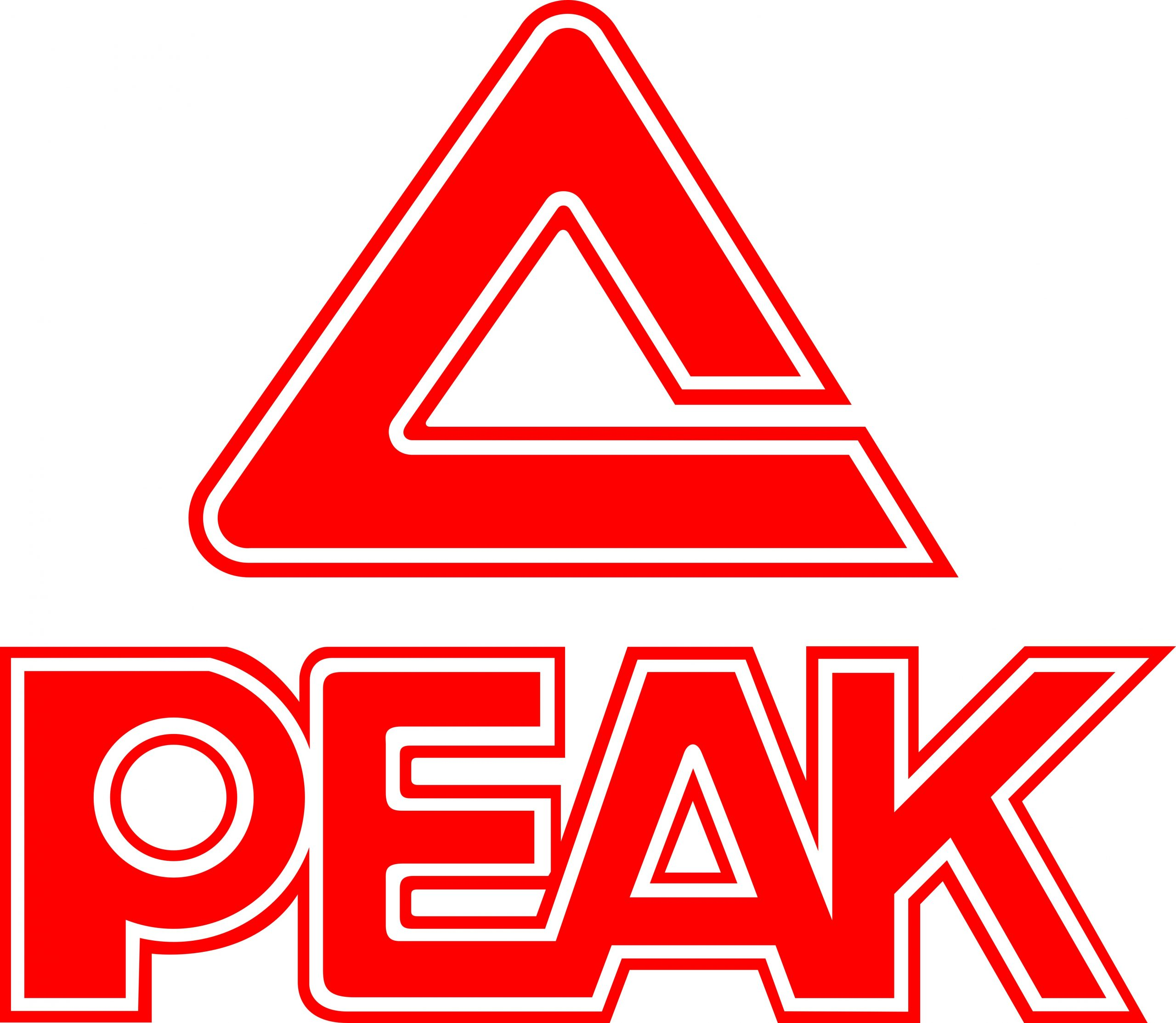 PEAK with triangle