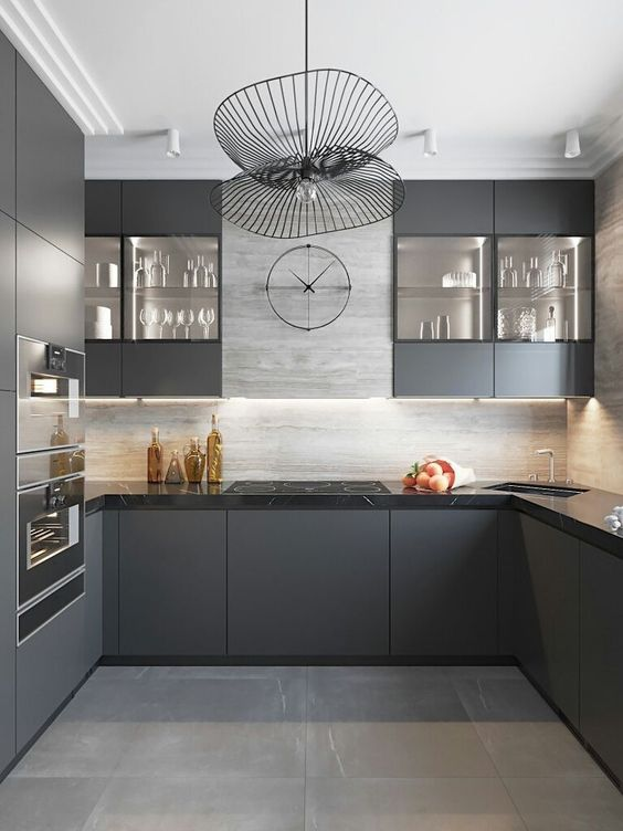 40 Grey Kitchen Ideas Cabinets Splashbacks And Grey Kitchen Tiles