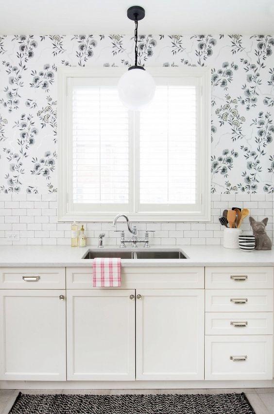 35 kitchen wallpaper ideas modern