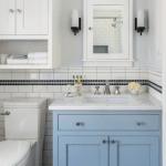 35 Blue Bathroom Ideas Light Blue Bathrooms Blue And White Bathrooms