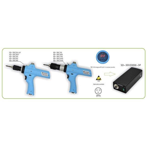 IMMagine sd tbc series pistol type Avvitatori per assemblaggio industriale