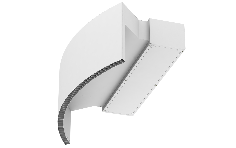 air curtain rotowind revolving door air