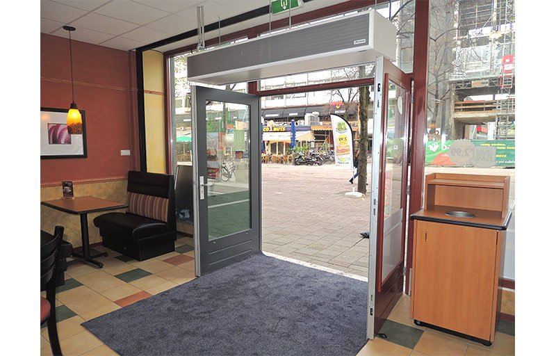 air curtain in your commercial premises