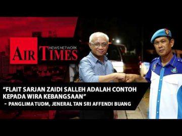 Flait Sarjan Zaidi Salleh merupakan contoh kepada National Heroes