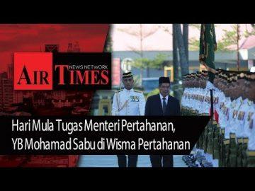 Hari Mula Tugas Menteri Pertahanan, YB Mohamad Sabu di Wisma Pertahanan