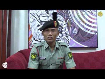 Jasa anggota dihargai Kpl Shahrudin bin Siampak dan LKpl Idlan bin Jelani