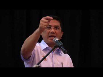 Konvesyen Pertama dan Mesyuarat Agung Kali Ke-4 Pahlawan - Ucapan Dato' Seri Azmin Ali - Part 1/2