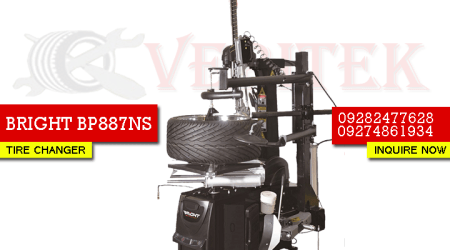 BRIGHT BP887NS tire changer-bluechip-hunter-ranger-hitech-affordable