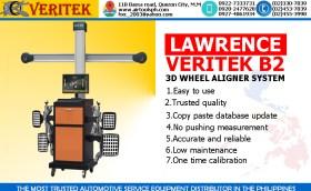 LAWRENCE VERITEK B2 3D WHEEL ALIGNER