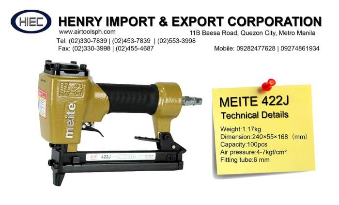 for-sale-meite-422j-air-stapler-for-sale-in-philippines