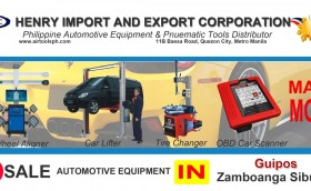 For sale Automotive Equipment in Guipos Zambonga Sibugay-Car lifter-tire changer-wheel aligner-scanner-engine-car