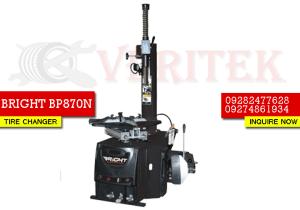 BRIGHT BP870N TIRE CHANGER MACHINE VERITEK PHILIPPINES BLUECHIP HUNTER CORGHI