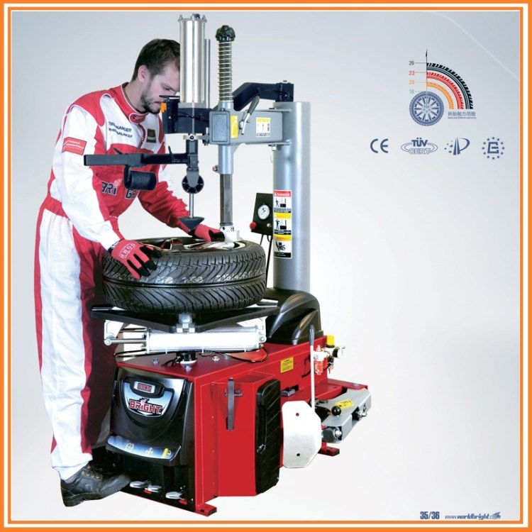 Bright-890N CE Certified Tire Changer With Air Blast Function