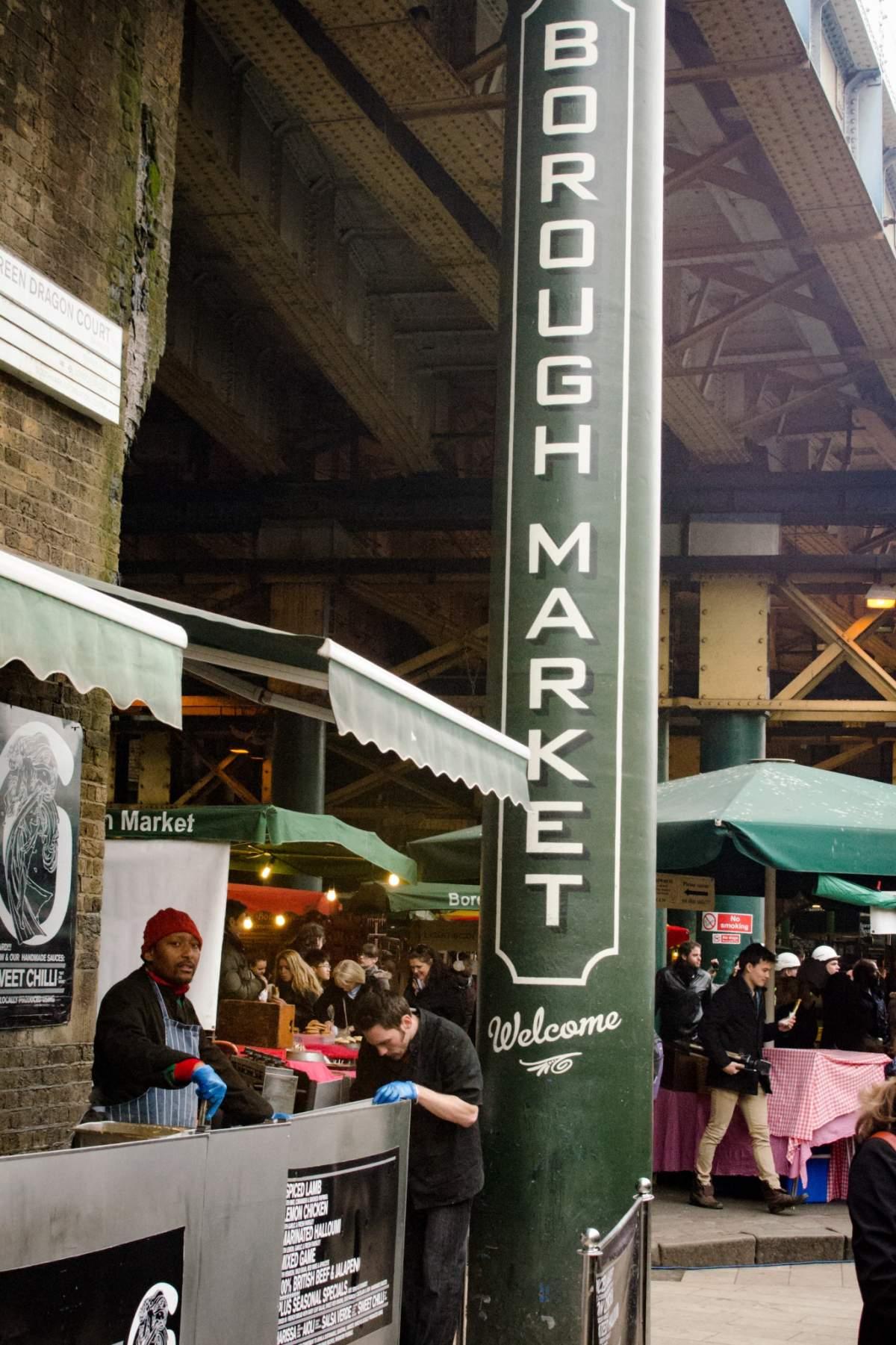 Bien manger à Londres: Le Borough Market - © Cedric Lizotte