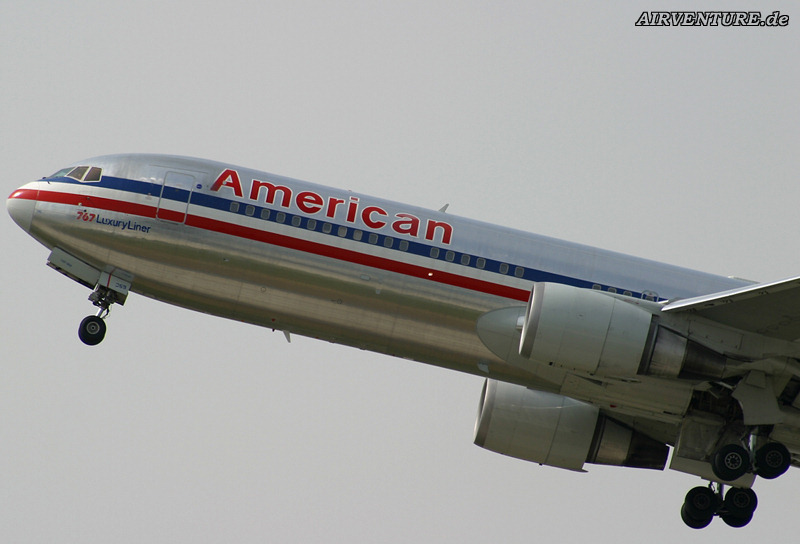 American Airlines airplane plane fly flying