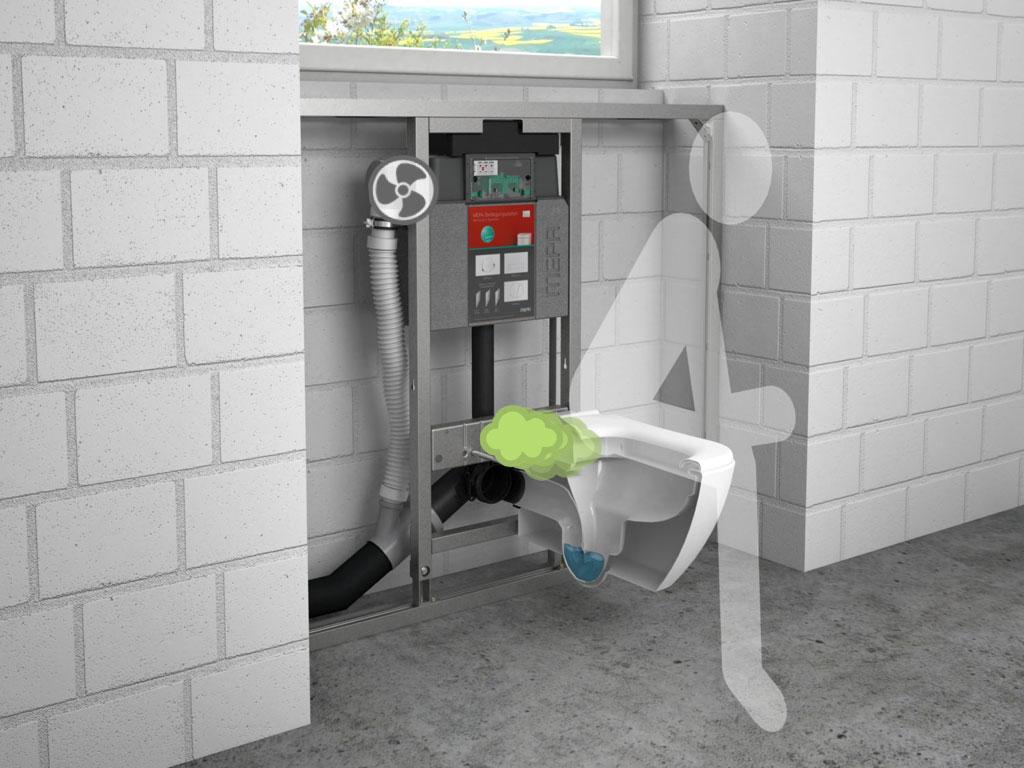 Toilettenluftung