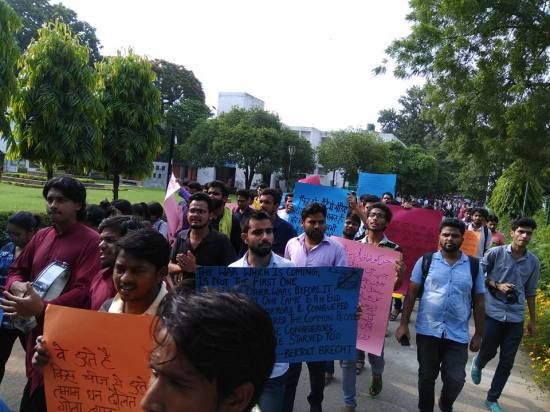 Poetry March in Jamia