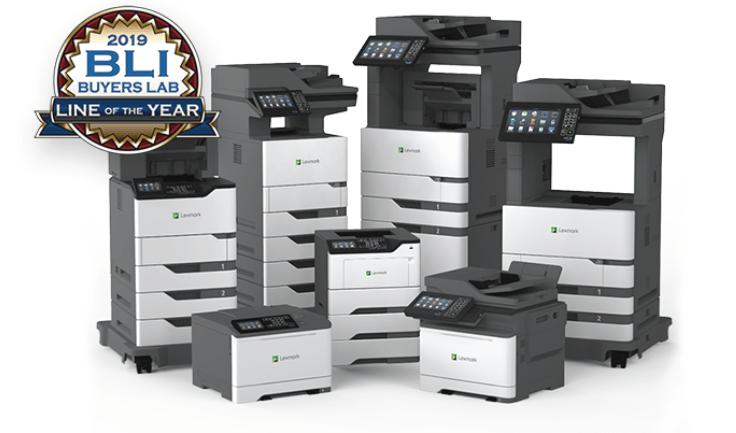 Lexmark wins 2019 Printer : MFP Line of the Year