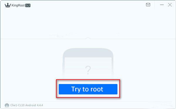 Rooter l'appareil Android avec KingRoot sur l'ordinateur