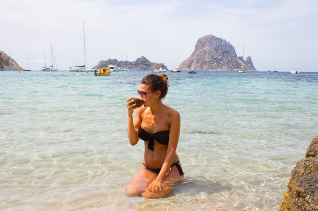 Cala dhort Ibiza
