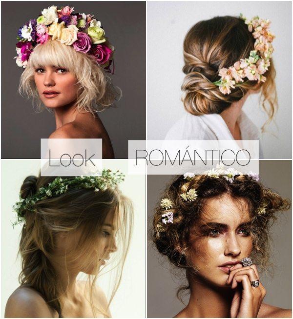 Coronas de flores moda