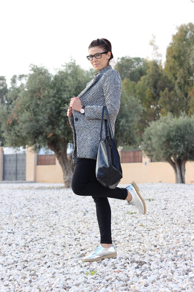 Outfit blanco y negro2