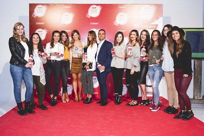 Colgate evento Madrid grupo